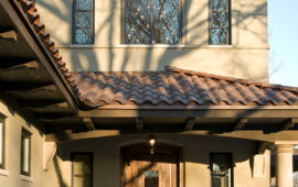 MN Home with Clay Tile Roof