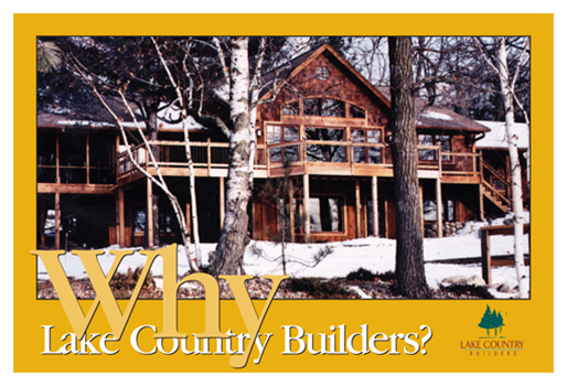 2002 Lake Country Builders Sales Collateral
