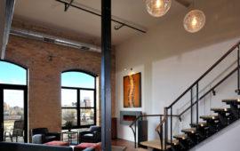Modern Loft Living Room
