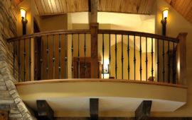 Juliet Balcony in Lake Home