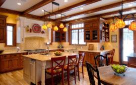 European Style Custom Kitchen Design MN