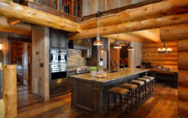 Log Cabin Kitchen MN