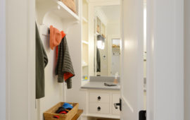 Powder Room Mudroom Design