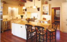 Kitchen Island as Table