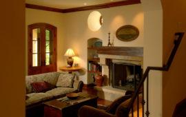 Living Room with Oculus Window