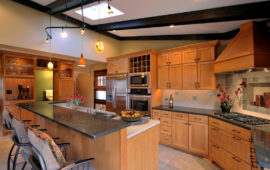Wood Cabinet Kitchen Remodel MN