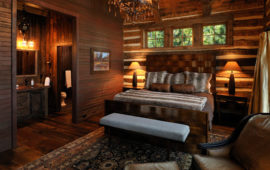 Lake Home Master Bedroom