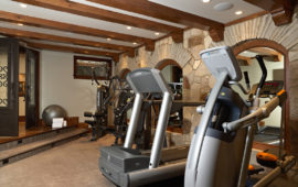 Excercise Room Home Addition