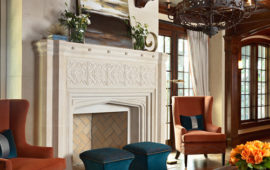 Detailed Fireplace