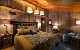 Rustic Guest Bedroom