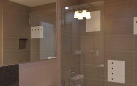 Neutral Modern Bathroom Remodel