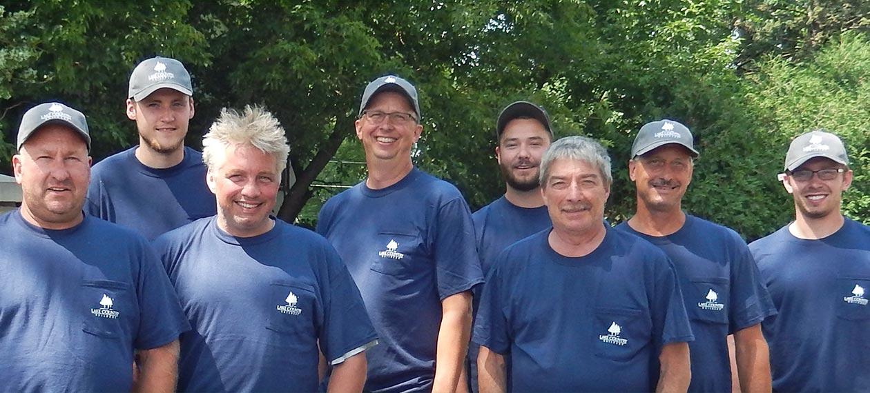Lake Country Builders Carpenters Team