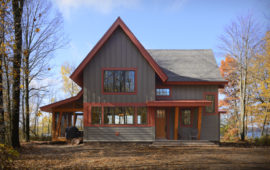 WI Custom Lake Home on Red Cedar Lake
