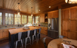 WI Lake Home Custom Kitchen