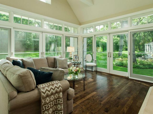 Sun Room Design by Lake Country Builders
