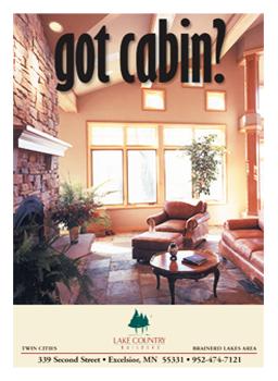 2002 Lake Country Builders Cabin Brochure