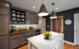 Gray Cabinets in MN Kitchen Remodel