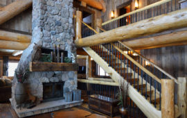Log Cabin Open Concept