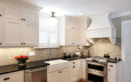 White Gray Kitchen Remodel MN