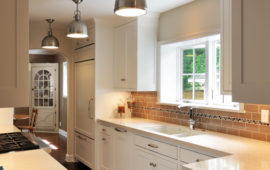 MN WI Kitchen Design White Cabinets Wood Floors