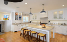 MN WI Kitchen Remodel White Cabinets