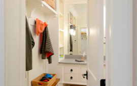 Powder Room / Mudroom Combined