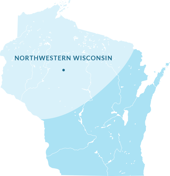 LCB Design-Build's Northwestern Wisconsin Territory