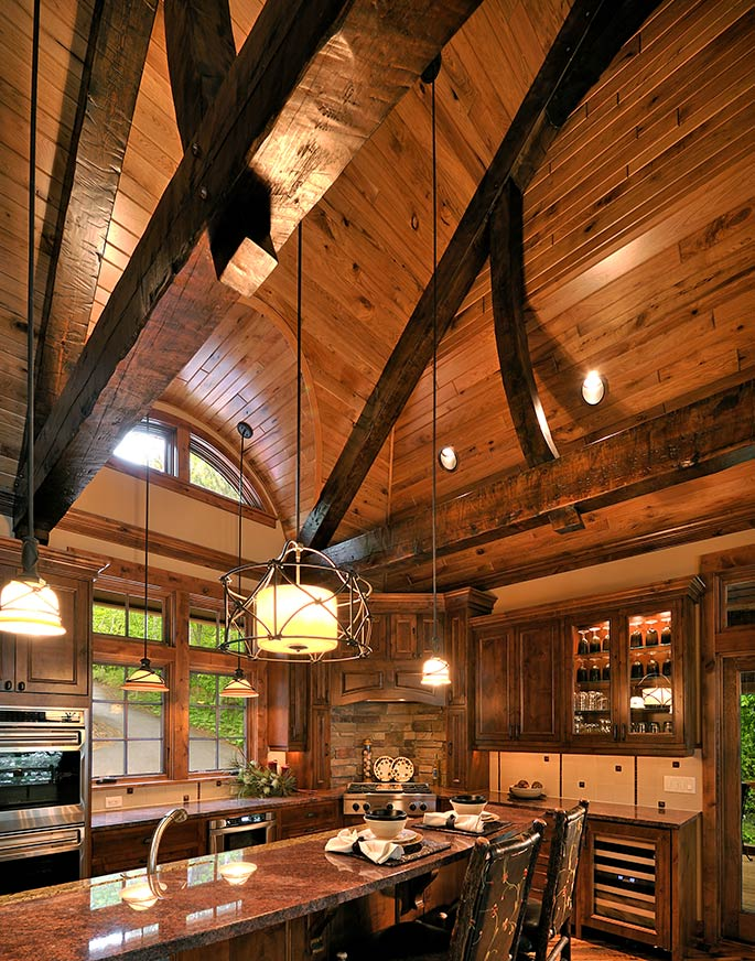 Lake Home Kitchen