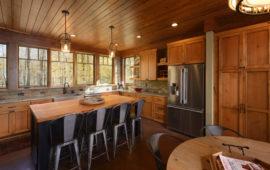 WI Lake Home Custom Kitchen