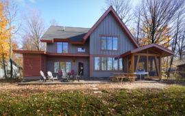 Custom Lake Home Design
